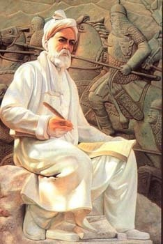 Persian poet Ferdowsi (940 – 1020 CE), the author of the Šāhnāmeh, the national epic of Iran and the Persian-speaking world.