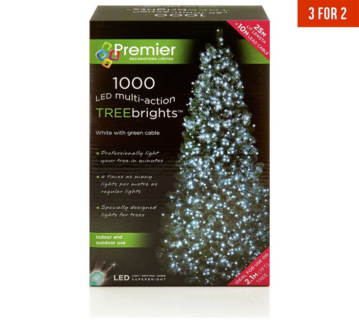 Led Christmas Tree Lights At Tesco