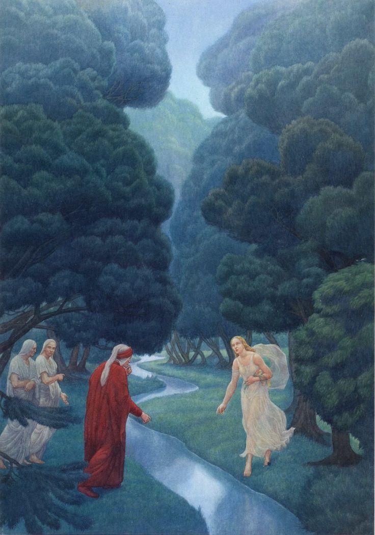 Amos Nattini, Purgatorio canto XXX, versi 31-32