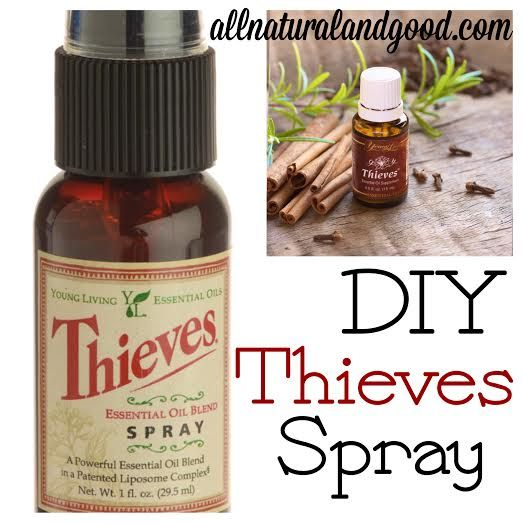 Support Your Immune System With DIY Thieves Spray - All Natural & Good