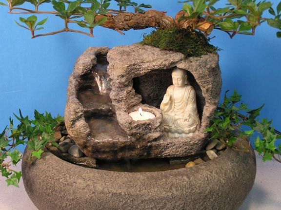 Small Indoor Water Features Wonderfull Design Ideas With Buddha With