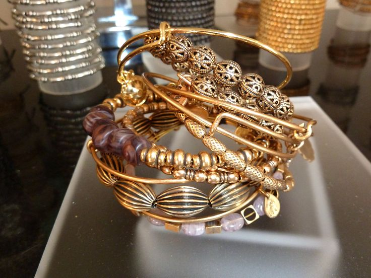 Alex and Ani collections are highlighted with gorgeous embellishments and intricate engravings. This brand celebrates artistry with a wide assortment of necklaces, bracelets, bangles, and sterling silver bracelets.