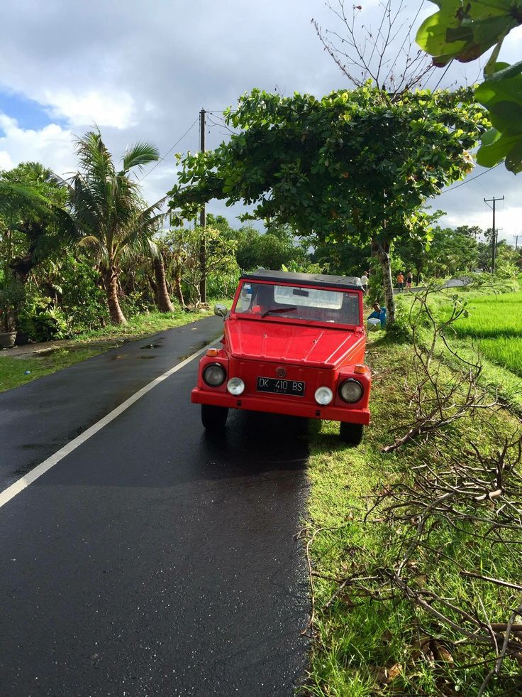 Car on trip