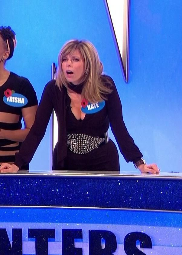 Kate Garraway, I Don't Know Why Kate Has Bothered With The Name Tag Because There Is Not Much Chance Of Noticing It!!!