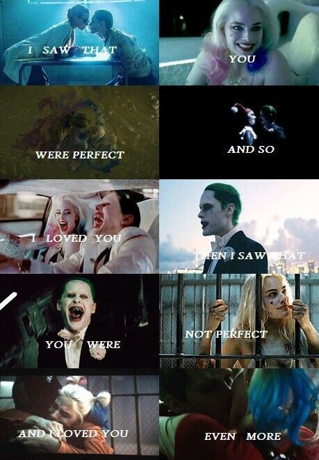 The Joker and Harley Quinn // Suicide Squad
