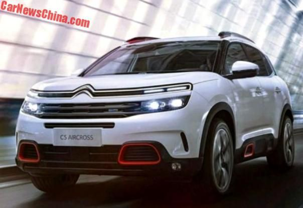 Official: The New Citroen C5 Aircross SUV For China