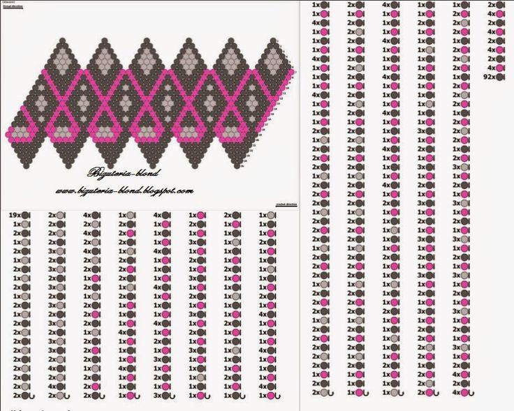 bizuteria-blond: Wzory na kulki szydełkowe