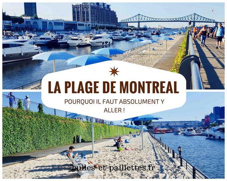 Avoir les pieds dans le sable tout en ayant une vue dégagée sur Montréal, ça vous tente ? C'est possible à la plage de l'Horloge ! J'ai adoré y aller et je vous raconte pourquoi dans mon article :-)