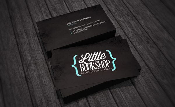 52 best bc images on pinterest business card design carte de the little bookshop by ryan ho via behance branding project inspiration reheart Image collections