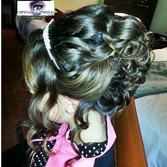 Bridal Flower Girl Hairstyle Flowergirl Braids Orlandohairstylist Wedding Hairstyles