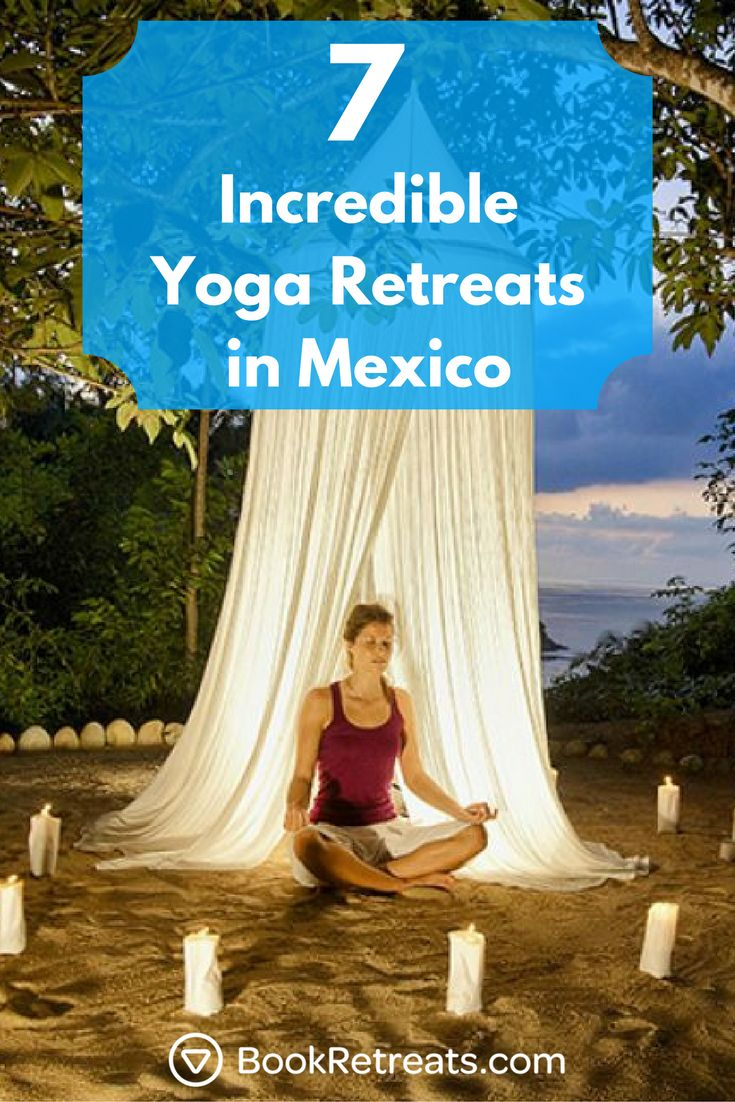 Escape to Mexico this year for the ultimate self-care vacation. From the Caribbean beaches of Tulum to the surf on the Pacific, you can easily find a relaxing beach retreat.   #yogaretreats #holiday #selfcare #beach #mexico #travel