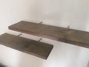 Zwevende planken - interieurtips.eu/zwevende-planken-monteren-decoreren/