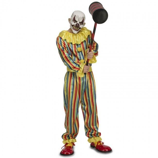 Déguisement Clown Terreur adulte #Déguisements #Halloween #Killerclown