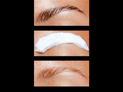 How to lighten / bleach your eyebrows