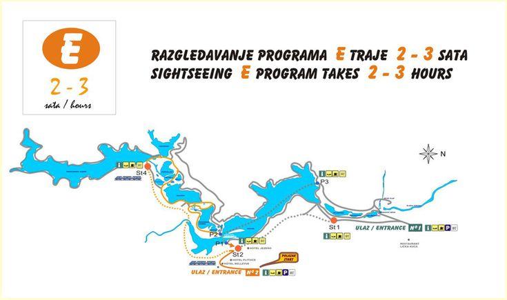 Plitvicei-tavak E útvonal