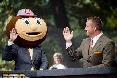 Guess who's going to Winn today against Northwestern?!! College Gameday! GO BUCKS!