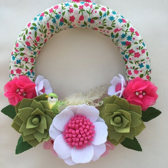 Spring succulent 10 wreath by wiltedrosewreaths on Etsy