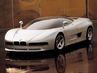 HD Wallpaper For Backgrounds BMW Nazca Prototype 1991 Car Tuning BMW Nazca  Prototype 1991 ...