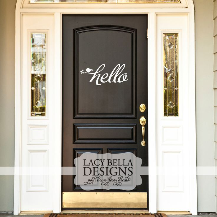 15 Fabulous Designs For Your Front Entry: 100+ Best Entryway Decal Designs Images By Lacy Bella