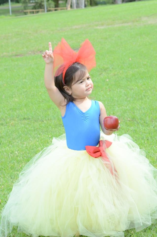 Little Chiyo Snow  White Inspired Tutu and Leotard
