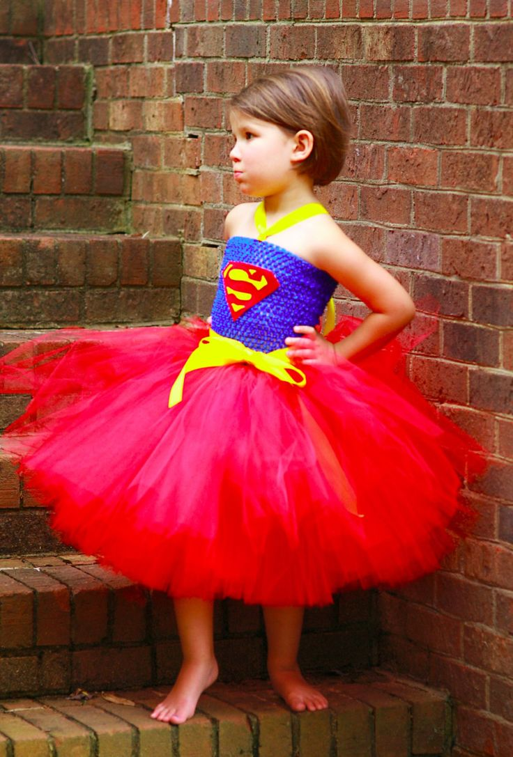 My Superman tutu dress