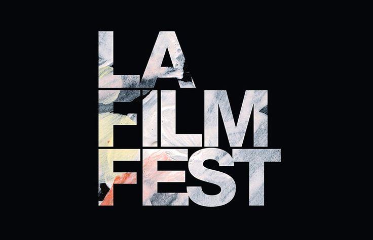 2015 los angeles film festival identity by pentagram