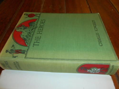 Children's Classics - CHARLES KINGSLEY - THE HEROES OR GREEK FAIRY TALES ILLUS PLATES HM BROCK- MACMILLAN 1956 for sale in Napier (ID:206088292)
