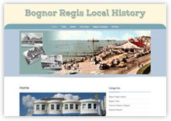 Bognor Local History Website. Learn about the history of Bognor with books, talks and slideshows. Part of the Cottagewebs Clients Directory.