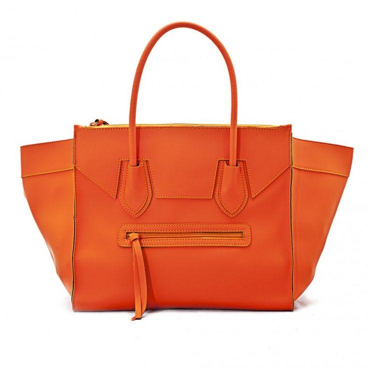 #FASHIONHALLOWEEN: Braintropy. by Giorgio Schimmenti on @sbaam http://sba.am/378sho9lundg #Orange #handbag #borsa #arancione