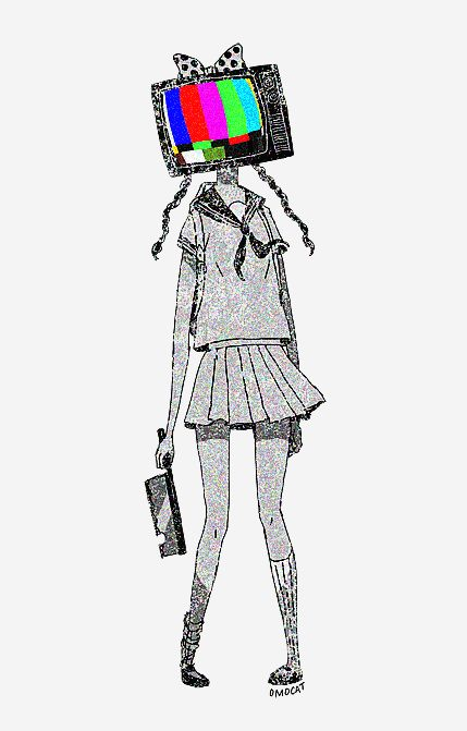 tv drawing. i wish iu0027m a tv head with bow on top drawing