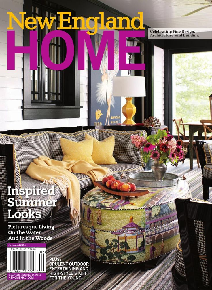 New England Home July August 2014  Inspired Summer Looks