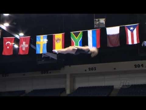 ▶ SMITH Samantha (CAN) - 2014 Trampoline Worlds, Daytona Beach (USA) - Qualifications Women - YouTube