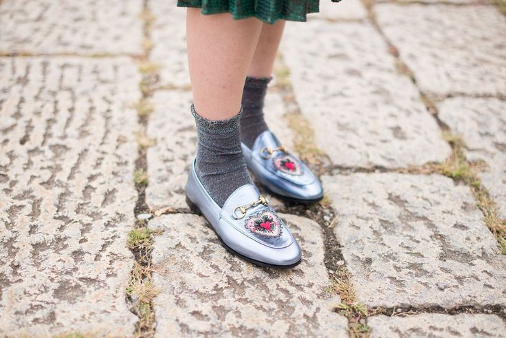 Wear Your Flats With a Cute Pair of Socks