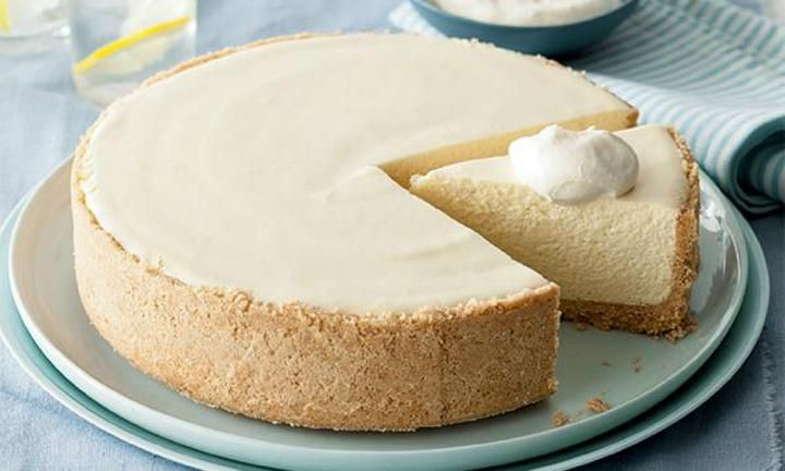 Fantastic lemon cheesecake
