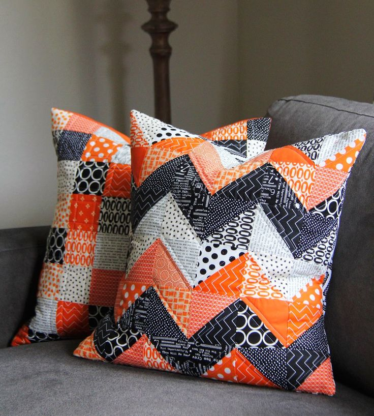 halloween pillows | Pillows for the couch and for the porch….and they match my Halloween ...