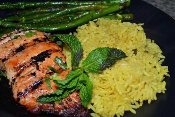 "The Best Salmon Marinade: It's not. I mean, it's pretty good, but it's not better than the Herbed Salmon I tried a few weeks ago, or the maple salmon I've been making for a few years now. (Both of those are on my ""Pinterest Recipes I've Tried and Like"" board, for those interested.)"
