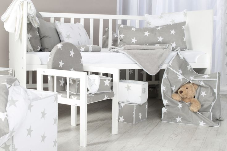 Die roba Home Collection - Trendiges Aussehen macht jedes Kinderzimmer zum absoluten Hit!  #sterne #stars #littlestars #homecollection #deko #möbel #furniture #baby #kids #children #dekoration #kinder #kinderzimmer #childsroom #bedroom #nursery  #white #grey #weiß #grau