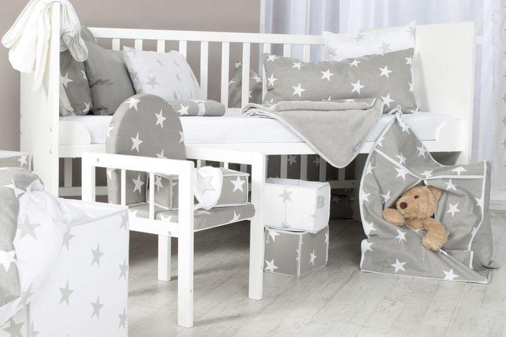 Die roba Home Collection - Trendiges Aussehen macht jedes Kinderzimmer zum absoluten Hit!  #sterne #stars #littlestars #homecollection #deko #möbel #furniture #baby #kids #children #dekoration #kinder #kinderzimmer #childsroom #bedroom #nursery  #white #grey #weiß #grau