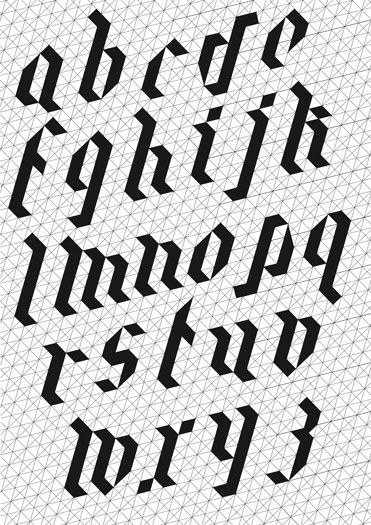 Alphabet Poster by Mayanne Trias