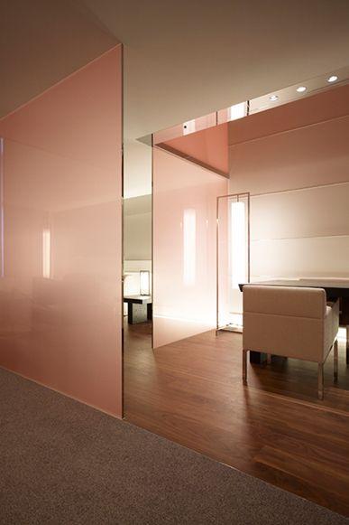 Interior colors The Tokyo Towers, Guest room 2 by Gwenael Nicolas(CURIOSITY)| Tokyo, Japan. 2007