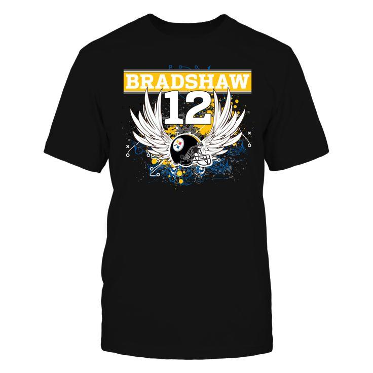 Pittsburgh Steelers - Bradshaw 12 - Winged Helmet