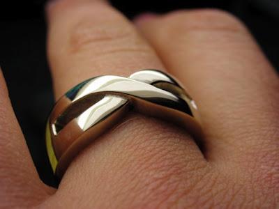 mens infinity wedding band - Infinity Wedding Ring