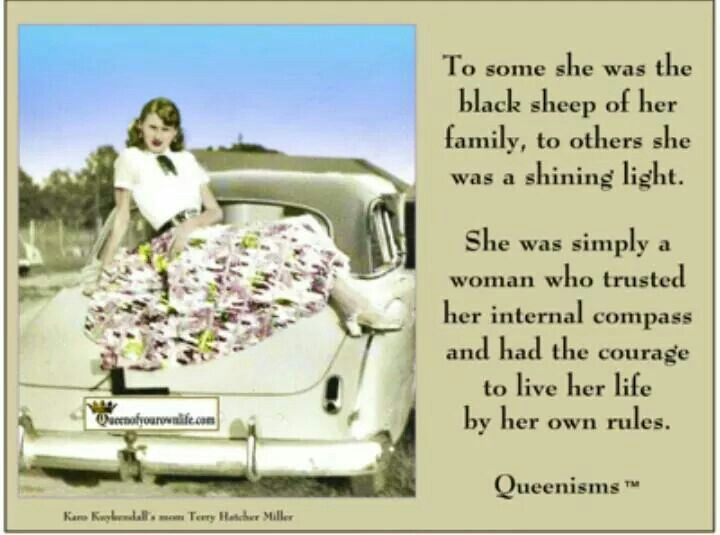 Pin by 🎀L. Lynn Baker🎀 on QUEEN bee Black sheep of the