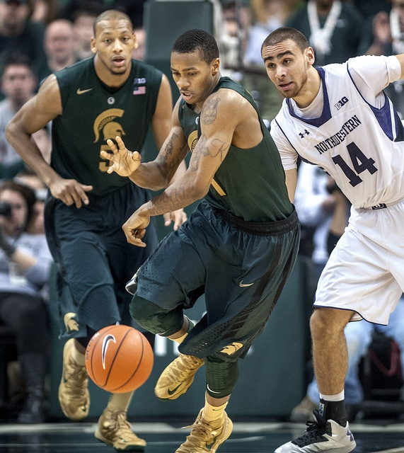 MSU #Spartans Basketball from Flickr
