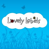 Lovely Labels - Leuke etiketten en labels om al je spullen te naamtekenen  9.95 voor 50 labels, 1.7 verzending