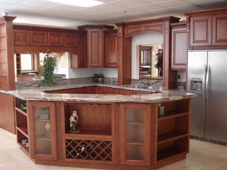 Best 25 Solid Wood Kitchen Cabinets Ideas On Pinterest Worktops Rustic And Slab Countertop