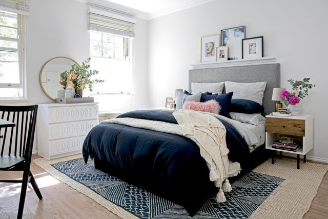 See how west elm Home Stylist Brendan Nash redecorated this calm and cosy bedroom.
