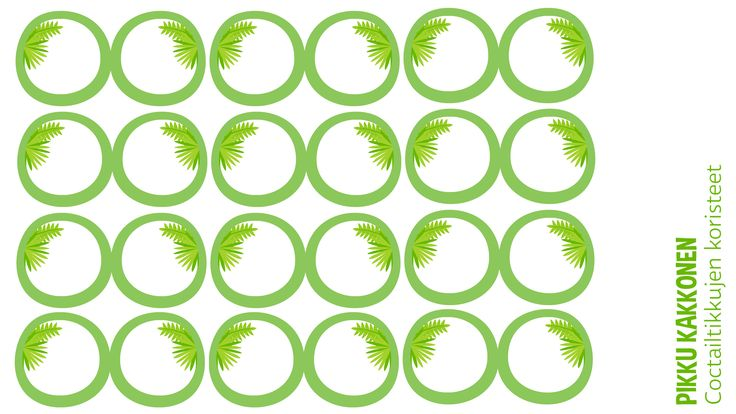 Coctailtikut | lasten | juhlat | syntymäpäivät | synttärit | onnittelukortti | askartelu | paperi | paper | DIY ideas | birthday | cocktail sticks decoration | kid crafts | Pikku Kakkonen | yle.fi/lapset