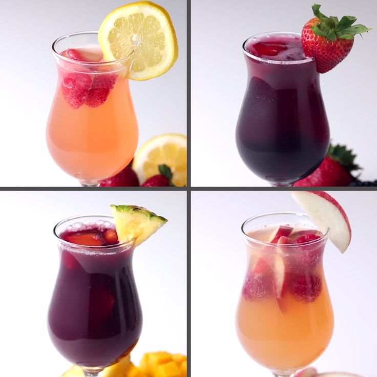 Sangria done 4 ways!