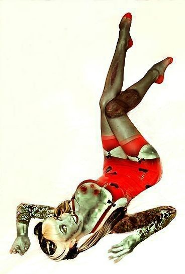 Zombie Pinup